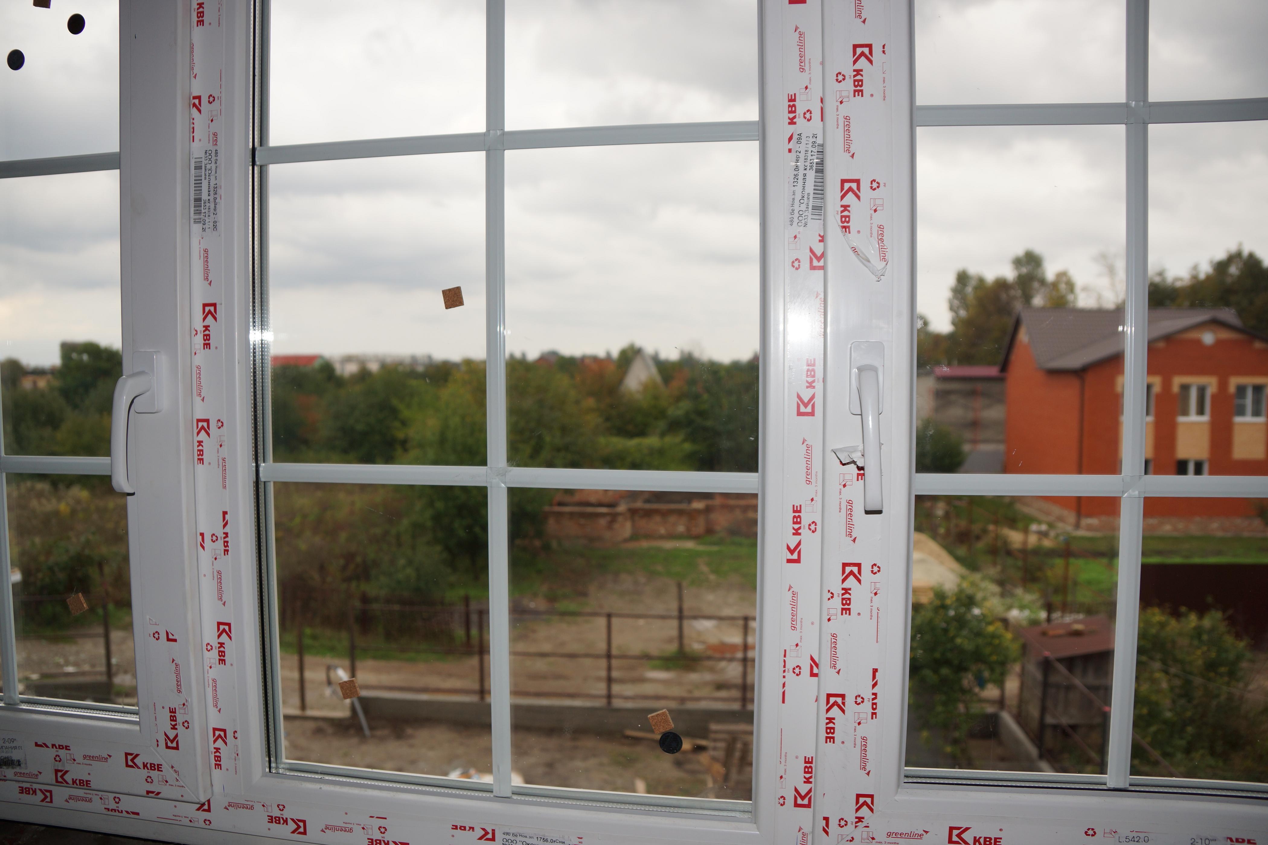 Пластиковые окна kbe для лоджии.