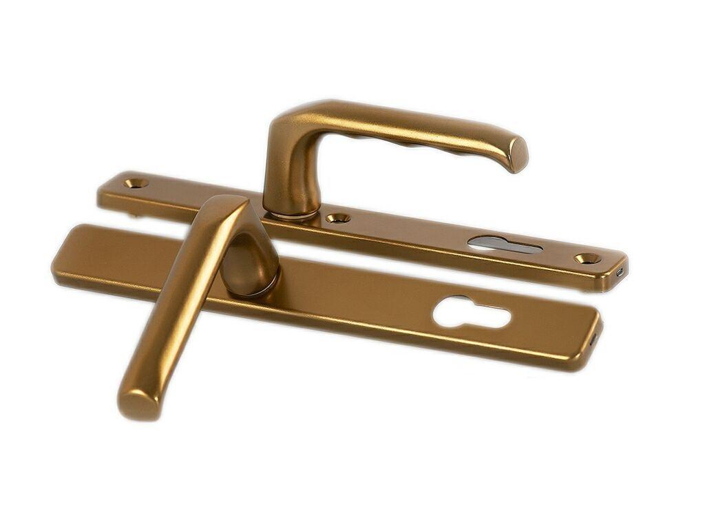 бронзовая ручка для входных дверей