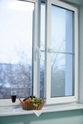 Окно с правильной установкой