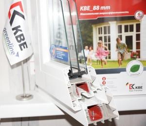 Пластиковые окна KBE 88 мм в Курске.Оконная компания ГОРОД г.Курск ул.Щепкина, д.22, офис 222 тел.+7(4712)310-986