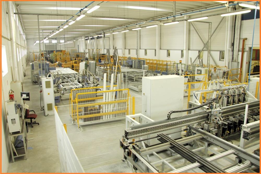 Производство пластиковых окон.Автоматическая сборка