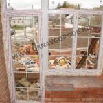 Балконные блок.Окно и дверь в частном доме в Курске