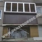 Балконы Курск, Курчатов.Обшивка профлистом