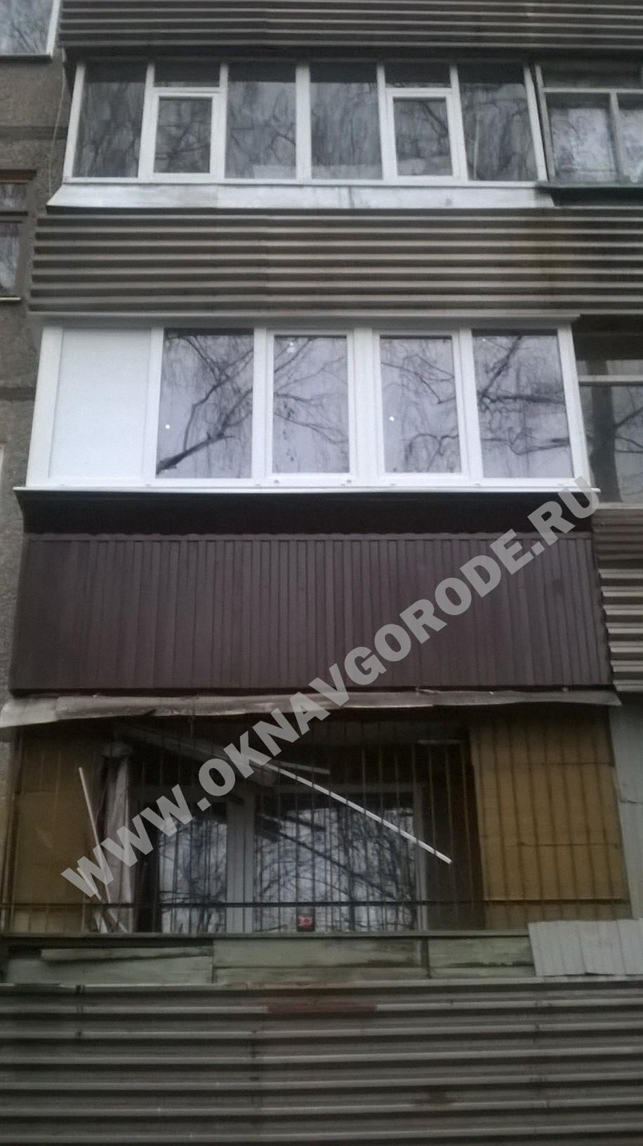 Балконы Курск с утеплением и без