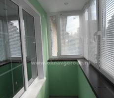 Балконы в Курске с отделкой www.oknavgorode.ru