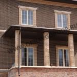 Окна и двери для частного дома в Курске с наружней ламинацией
