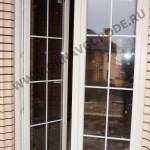Окна и двери для частного дома.Двери на веранду с раскладкой