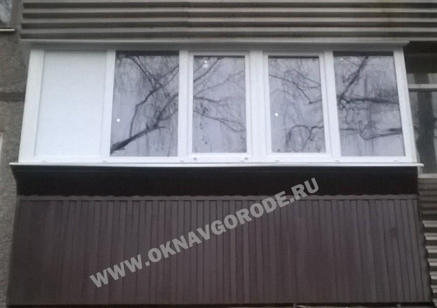 Остекление балкона в Курчатове