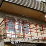 Остекление балкона.Изготовление метал.каркаса