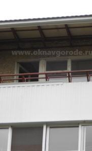 Остекление балконов в Курске. Сварочные работы