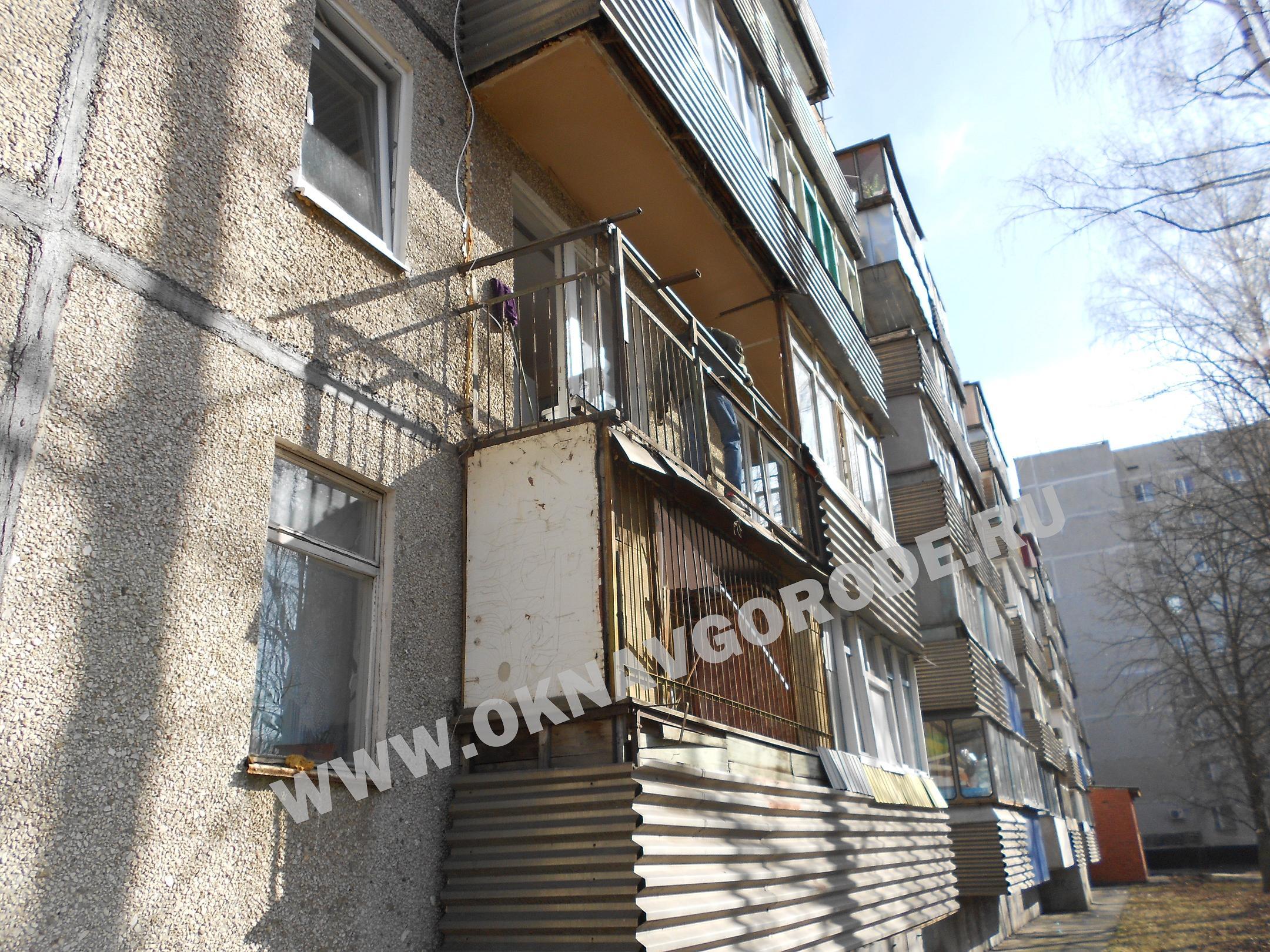 Остекление балконов в Курске