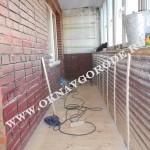 Остекление и отделка балкнов в Курске2