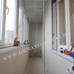 Остекление и отделка балконов и лоджий.Курск5