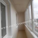 Остекление и отделка балконов и лоджий.Курск8