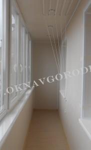 Остекление и отделка балконов и лоджий.Курск9