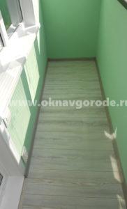 Отделка балконов в Курске с отделкой www.oknavgorode.ru