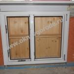 ПВХ окно(холодильник) со створкой и полкой