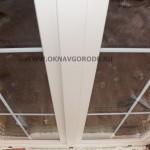 Пластиковые двери на вернаду или террасу купить в Курске