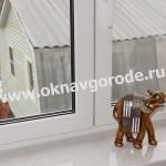 Пластиковые окна в Курске и подоконники Каррара Мрамор