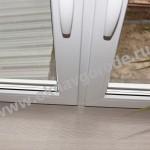Пластиковые окна в Курске и подоконником Меллер цвет Горная лиственница
