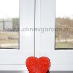 Пластиковые окна в Курске и ручки ROTO SWING с двумя рабочими створками