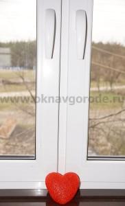Пластиковые окна в Курске с двумя рабочими створками