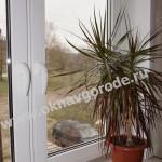 Пластиковые окна в Курске с подоконником Меллер цвет Горная лиственница