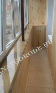 Теплое остекление и отделка балконов