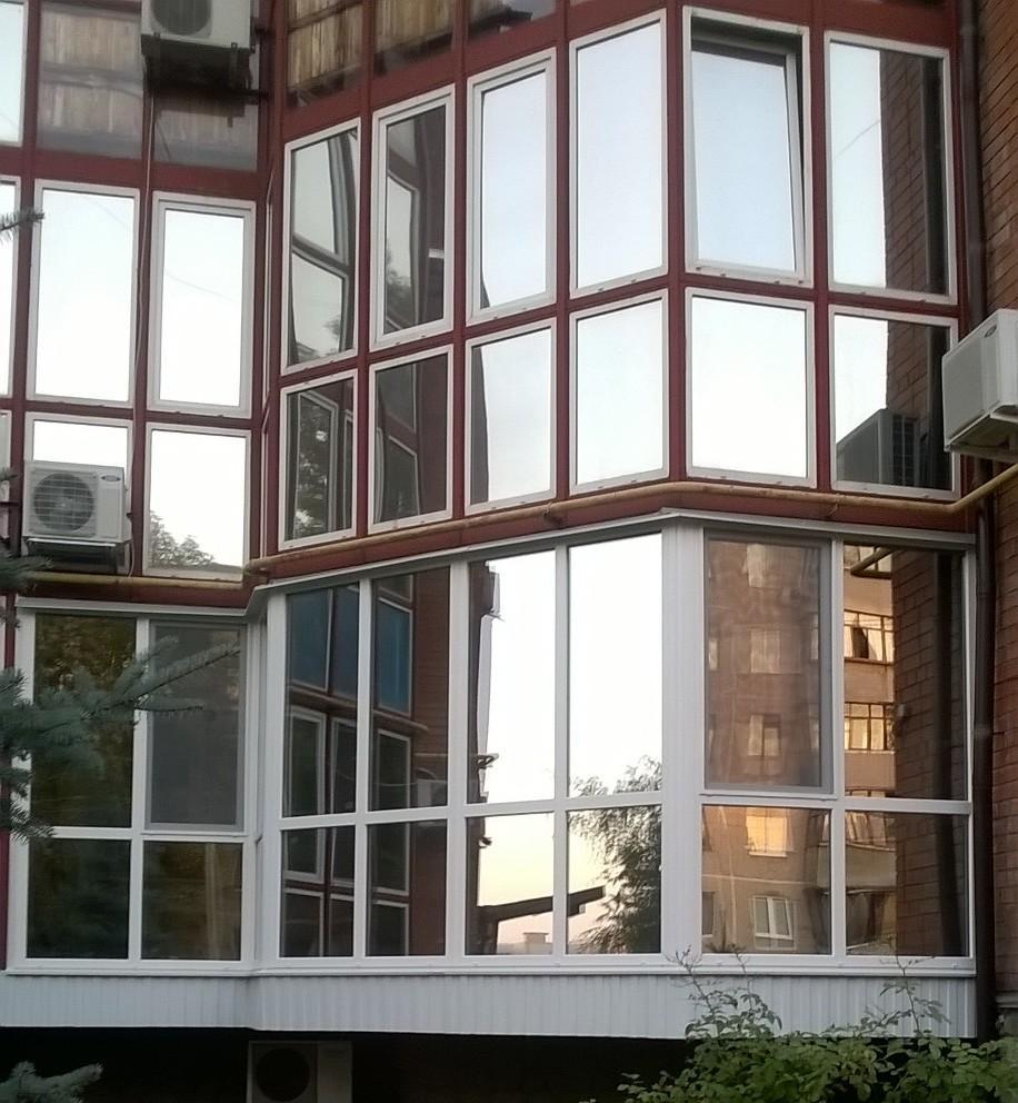 Отделка балкона . отделка балконов курск кпд. обшивка, утепл.