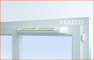 Приточный клапан для окон Aereco.Приточный клапан цена