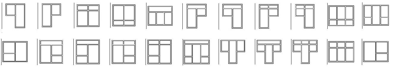 Примеры оформления выходов на балкон