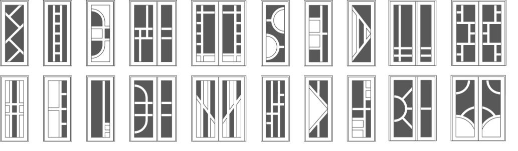 Варианты и типы пластиковой входной двери