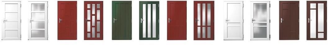 Варианты и типы пластиковой входной двери2