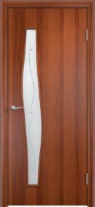 Модель Волна ДО с фьюзингом цвет Итальянский орех
