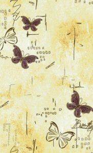 Бабочки беж 337