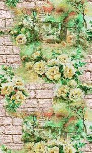 Кирпич и цветы 831