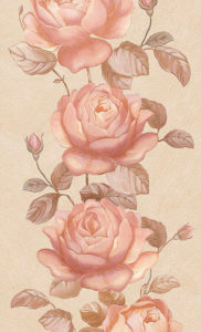 Роза перламутр