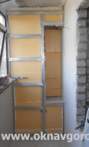 Балконы и лоджии Курск. Утепление пеноплексом (1)