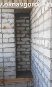 Балконы в Курске. Кирпичная кладка (1)