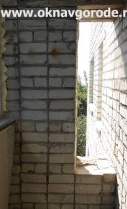 Балконы в Курске. Кирпичная кладка (2)