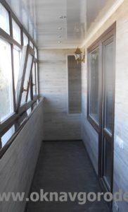 Отделка и остеление балконов Курск