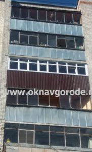 Ремонт балконов в Курске