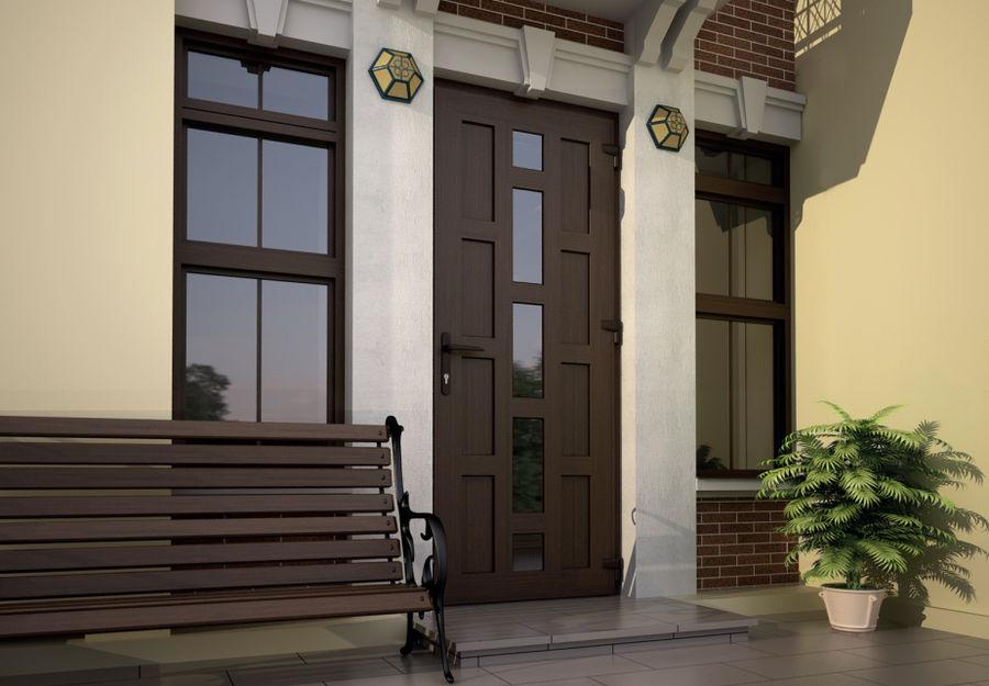 Дизайн двери пвх