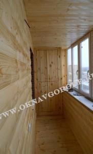 Остекление и отделка балкнов в Курске10